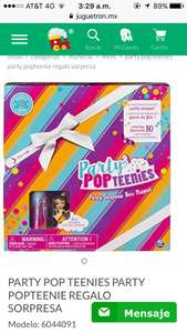 Juguetron: Party Pop Tennies Regalo sorpresa