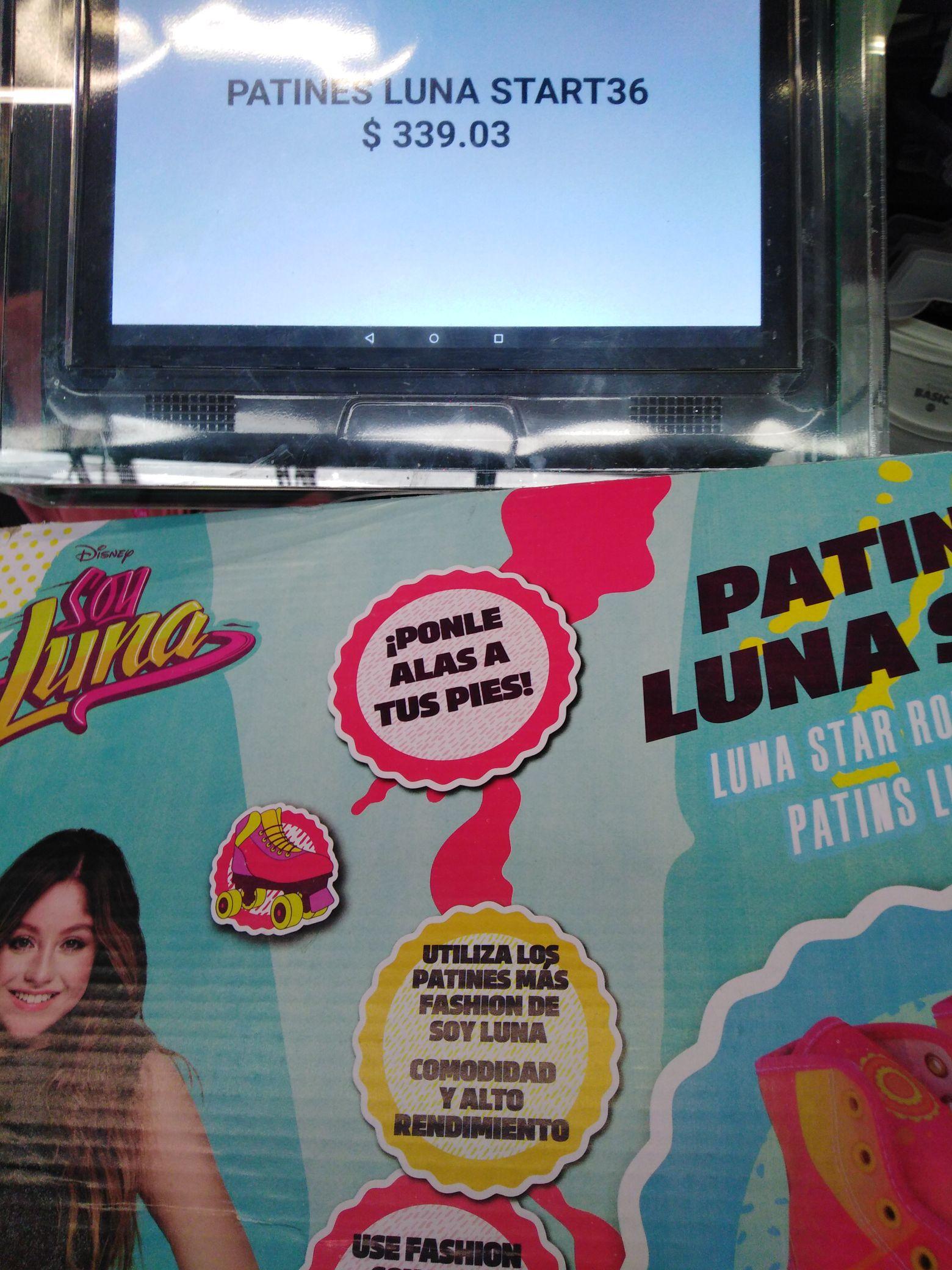 Bodega Aurrerá: Patines de soy Luna