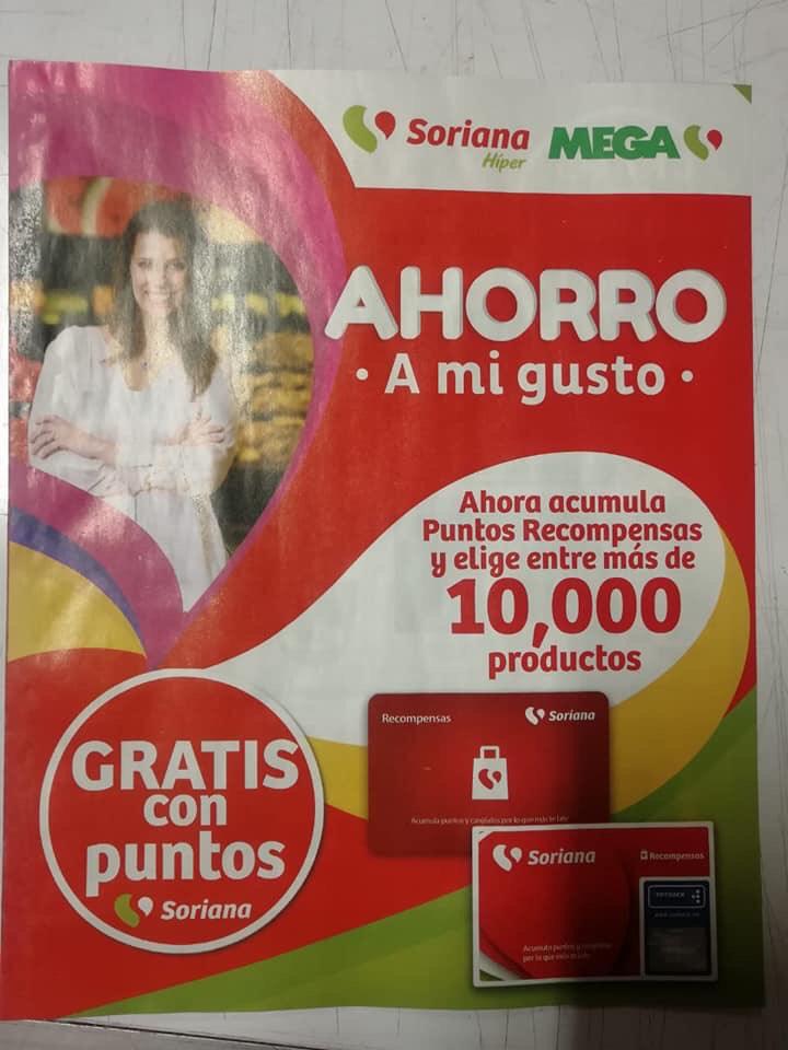 Soriana Híper y Mega Soriana: Folletos de Puntos Payback o Recompensas Soriana