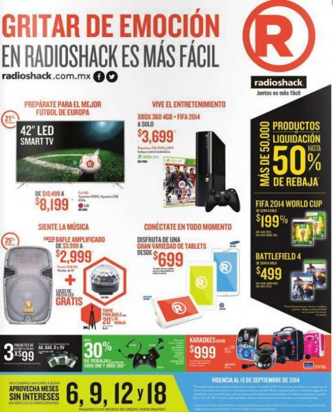 RadioShack: Battlefield 4 PS4 o Xbox One $499