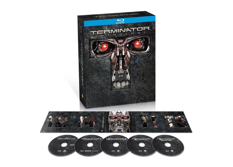 AMAZON: Terminator Anthology en Blu-Ray $331