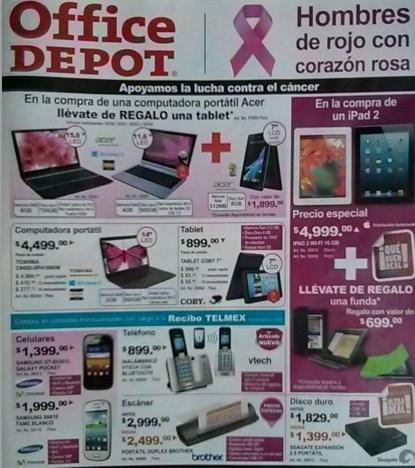 Folleto Office Depot octubre 2013