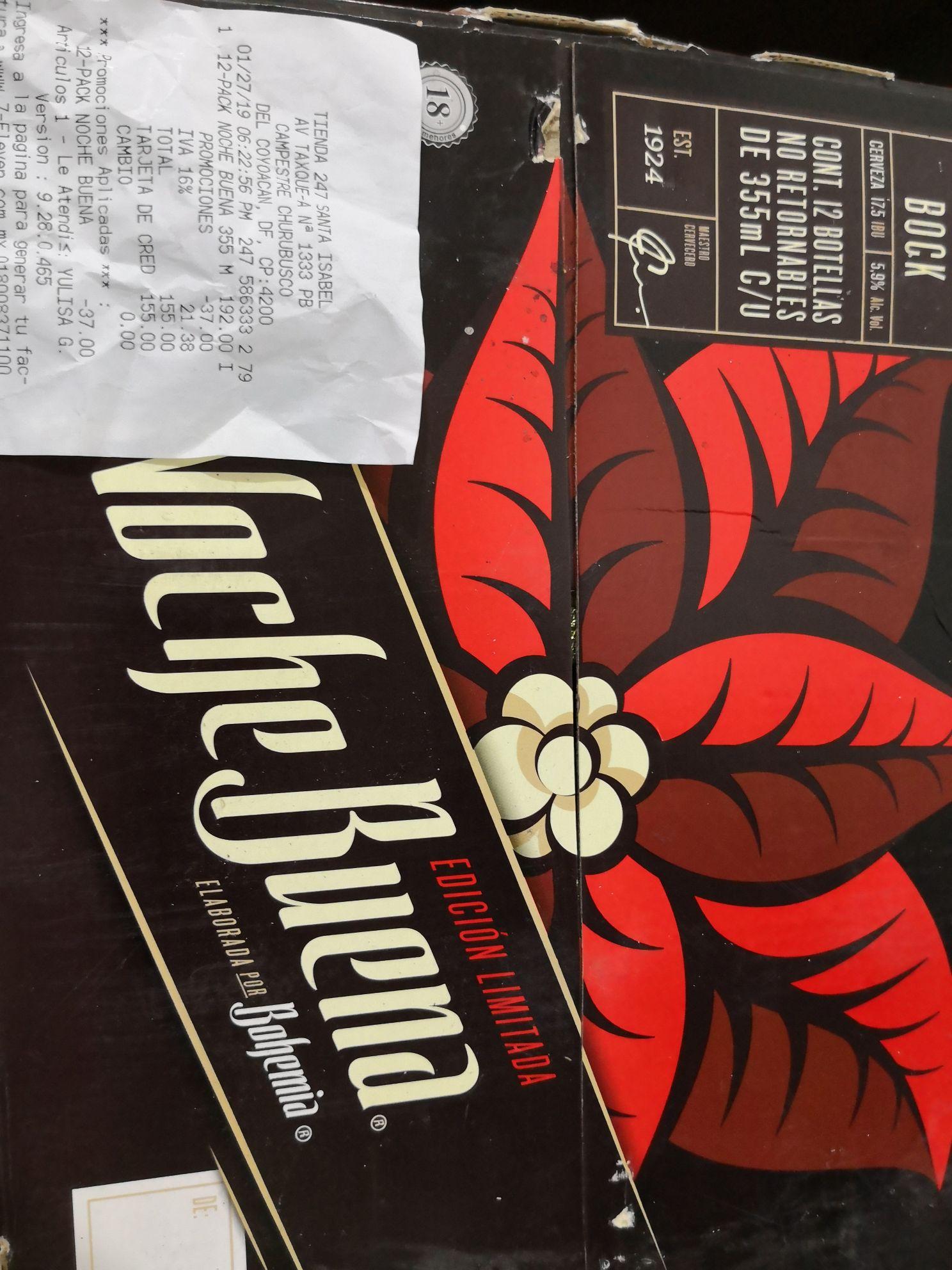 7 Eleven: Cerveza Nochebuena 12 pack