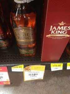 Walmart: Whisky James King Gold a $84.02