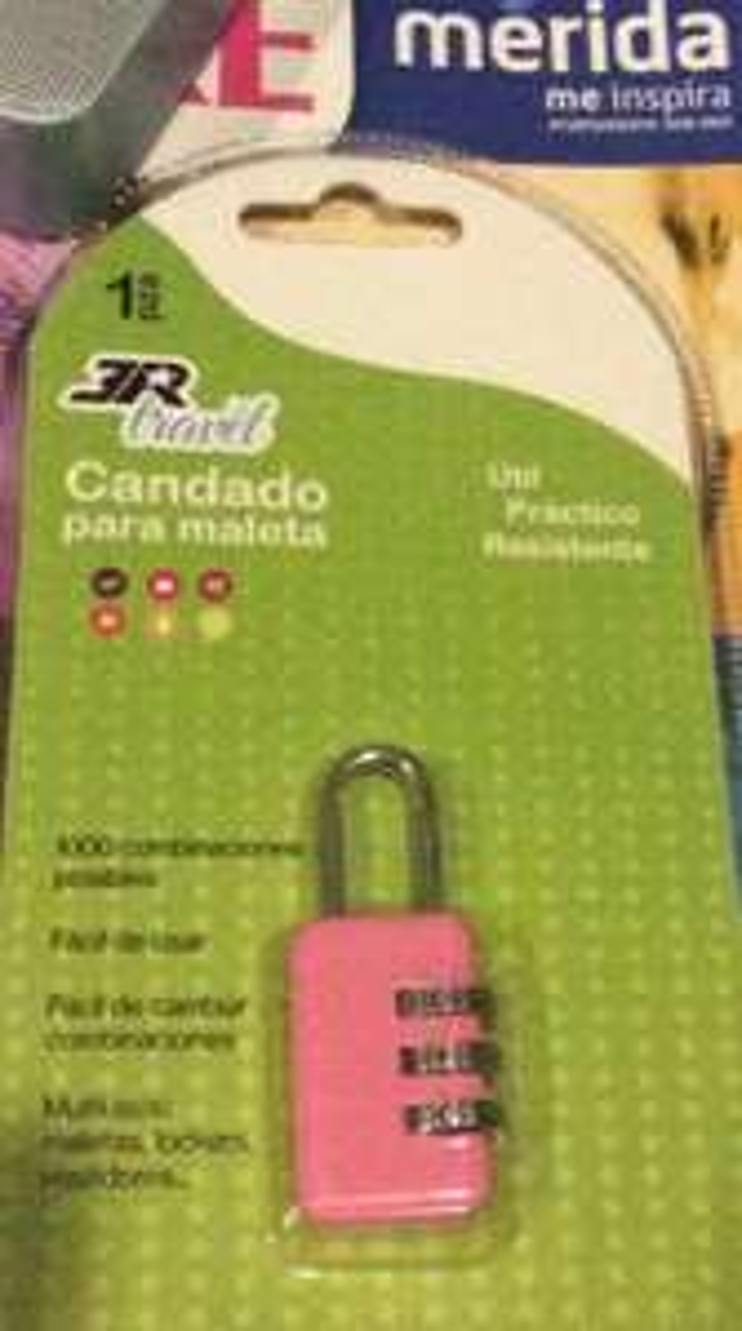 Walmart: Candado para Maleta