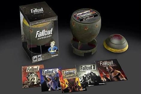 Amazon: Fallout antology para PC a $825