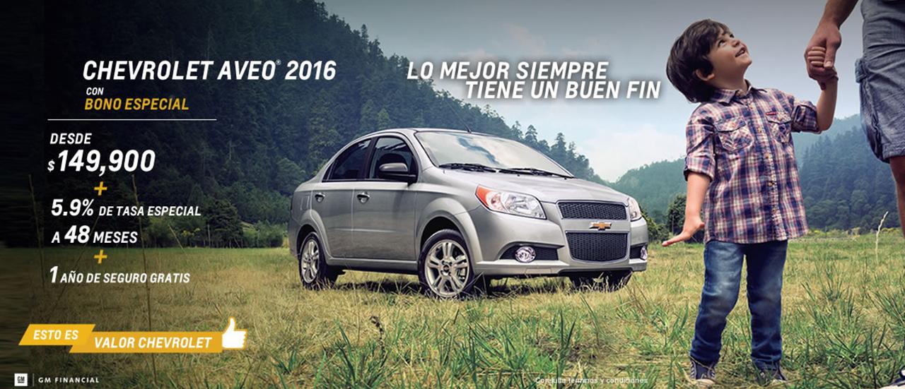 Promociones del Buen Fin 2015 en Chevrolet
