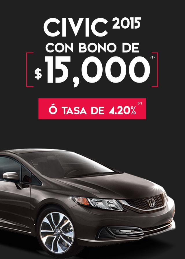 Ofertas del Buen Fin 2015 en Honda