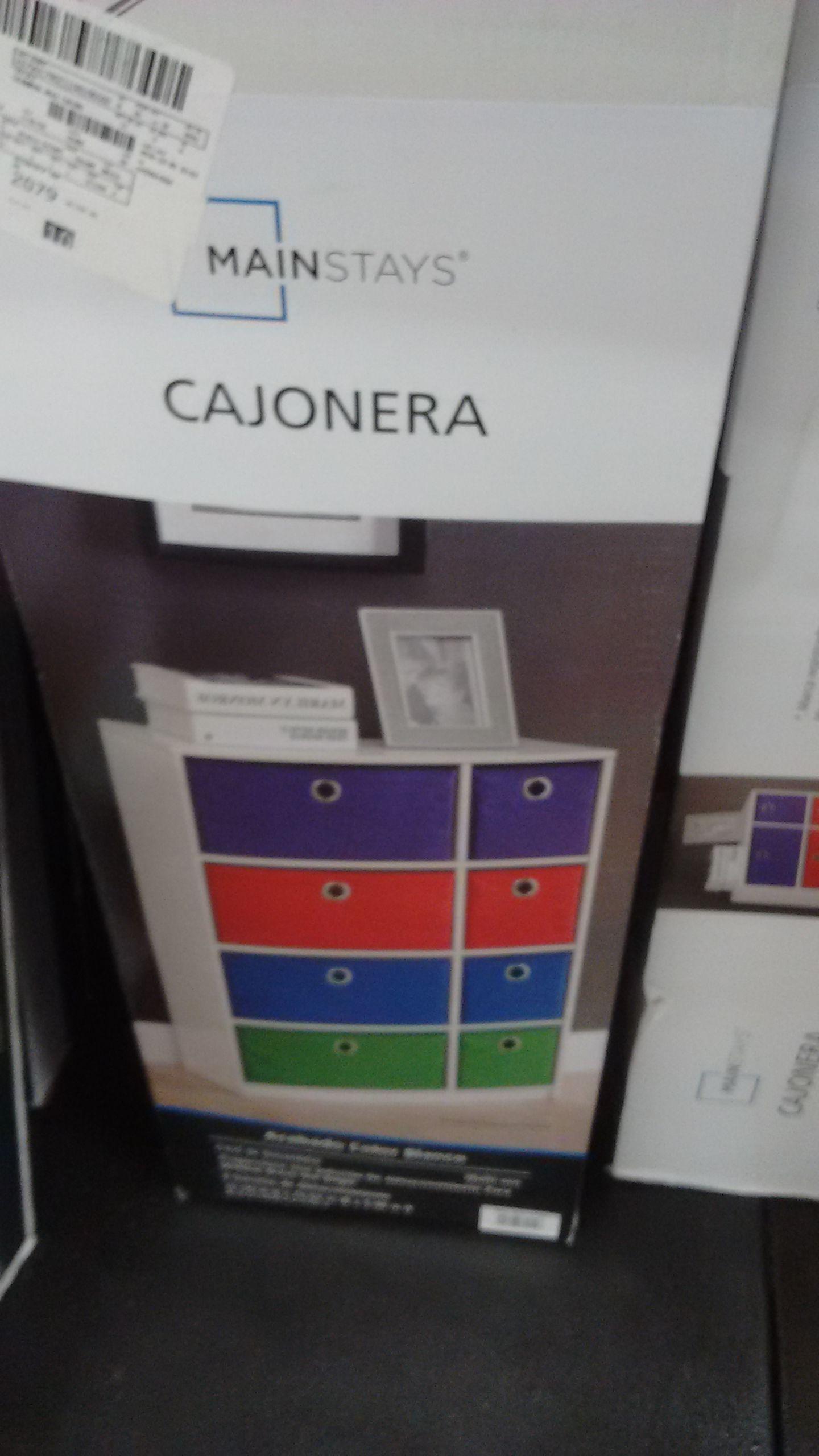 Walmart: Cajonera de colores en 2da liquidación
