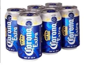Superama: Corona extra 6 pack 355 ml c/u $53