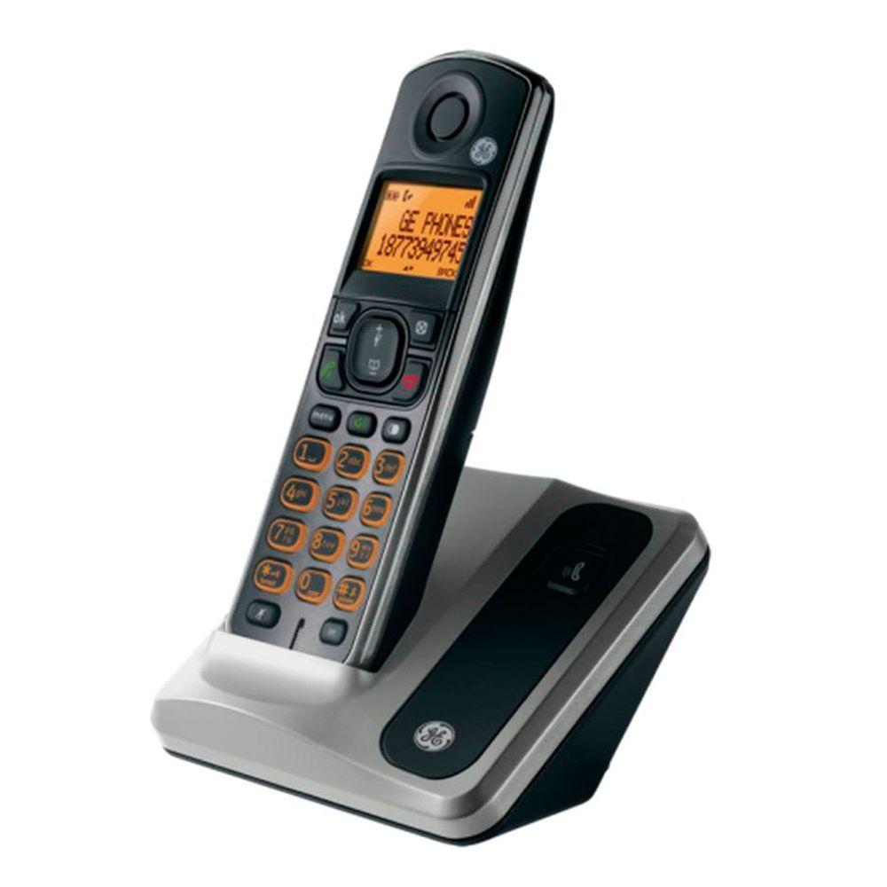Walmart: Teléfono inalámbrico General Electric Dect 6.0 negro Mod. GEE-LA28512EE1
