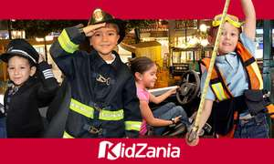 Groupon: Kidzania - En la compra de un niño, el boleto de adulto es gratis
