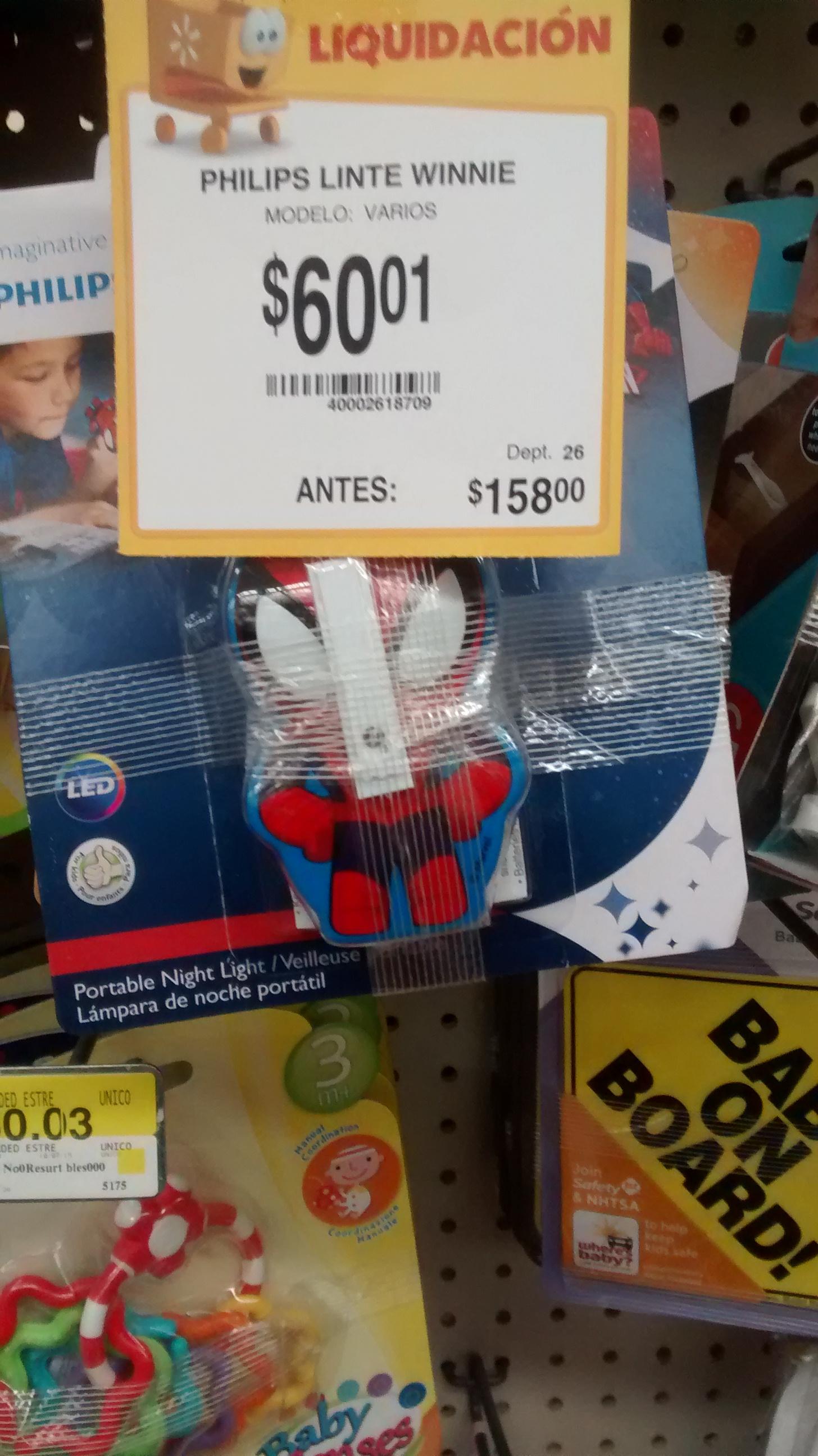 Walmart Izcalli: Lámpara infantil de mano $60.01