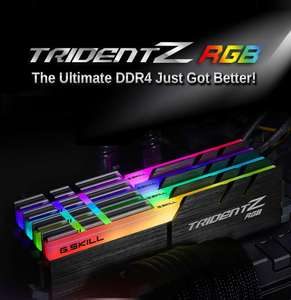 Newegg: G.SKILL TridentZ RGB Series 16GB
