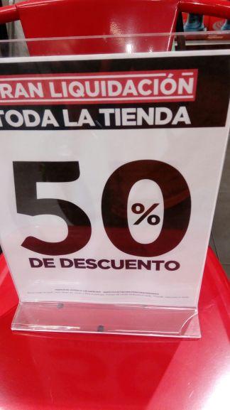 Home Store Buenavista Liquidación por cierre