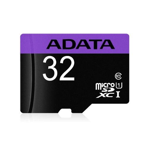 Tienda oficial Adata en Mercado Libre: Memoria micro sd 32gb adata clase 10 uhs 1 a $89+envio