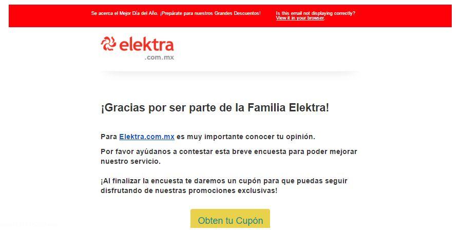 Elektra: Cupon 10% de descuento en toda la Tienda (aplica también en Motos)