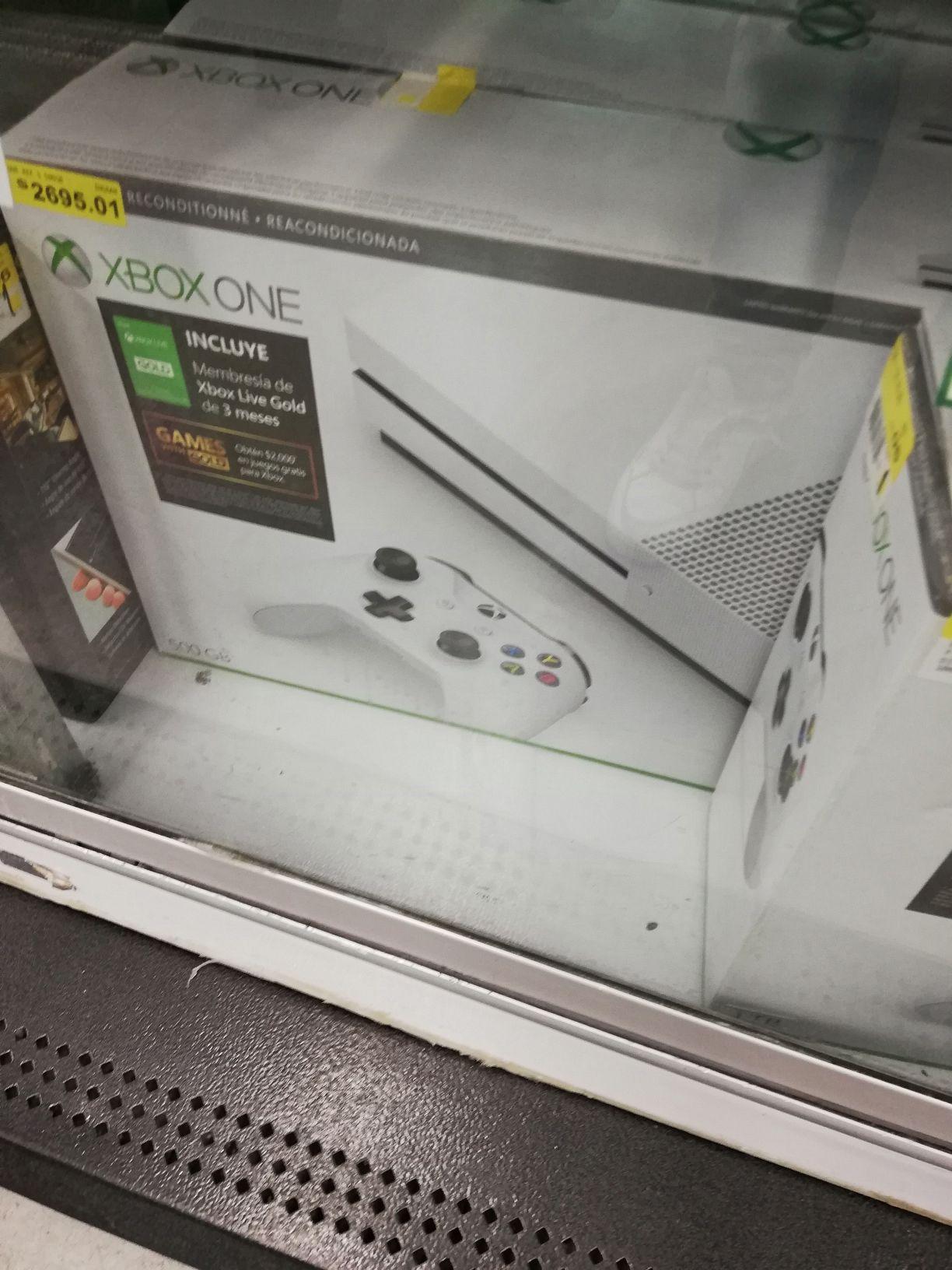 Bodega Aurrerá: Xbox One S refurbished 500gb y más