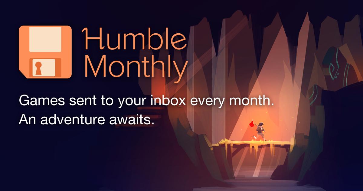 Humble monthly noviembre - juegos pc - precio en dolares