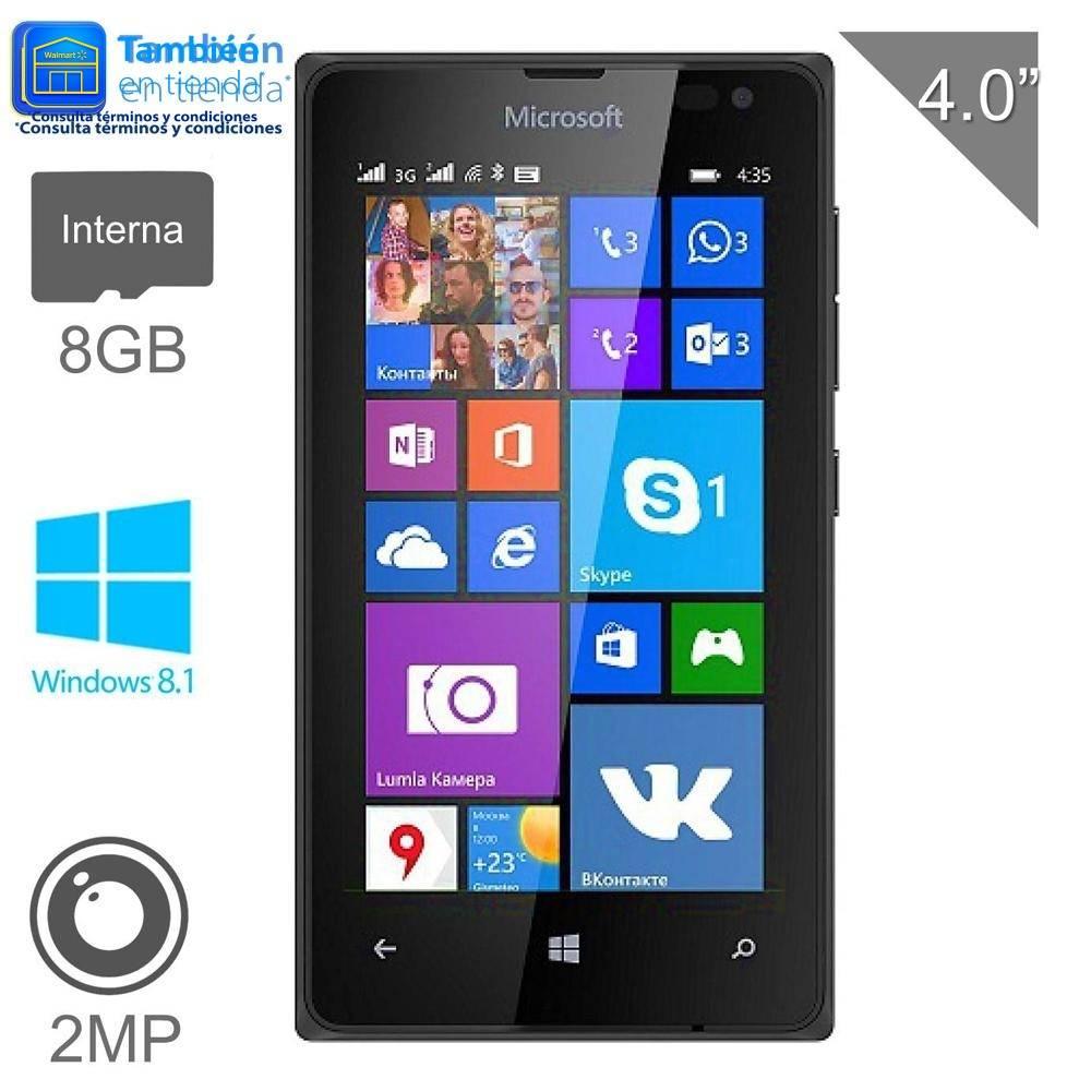 Walmart: Smartphone Microsoft Lumia 435 8 GB Negro