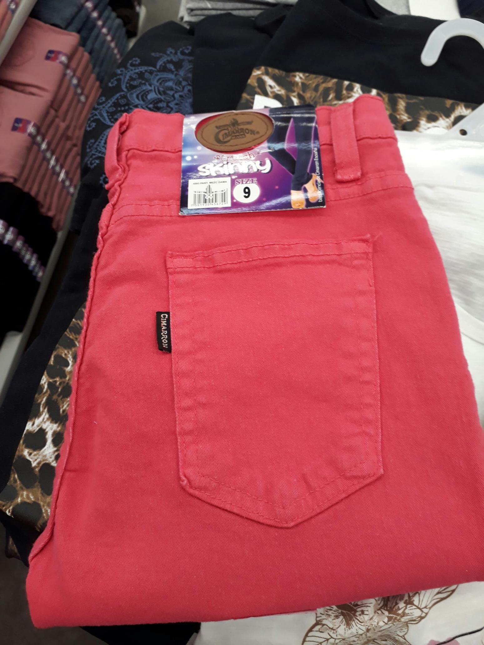 Bodega aurrera: pantalon cimarron