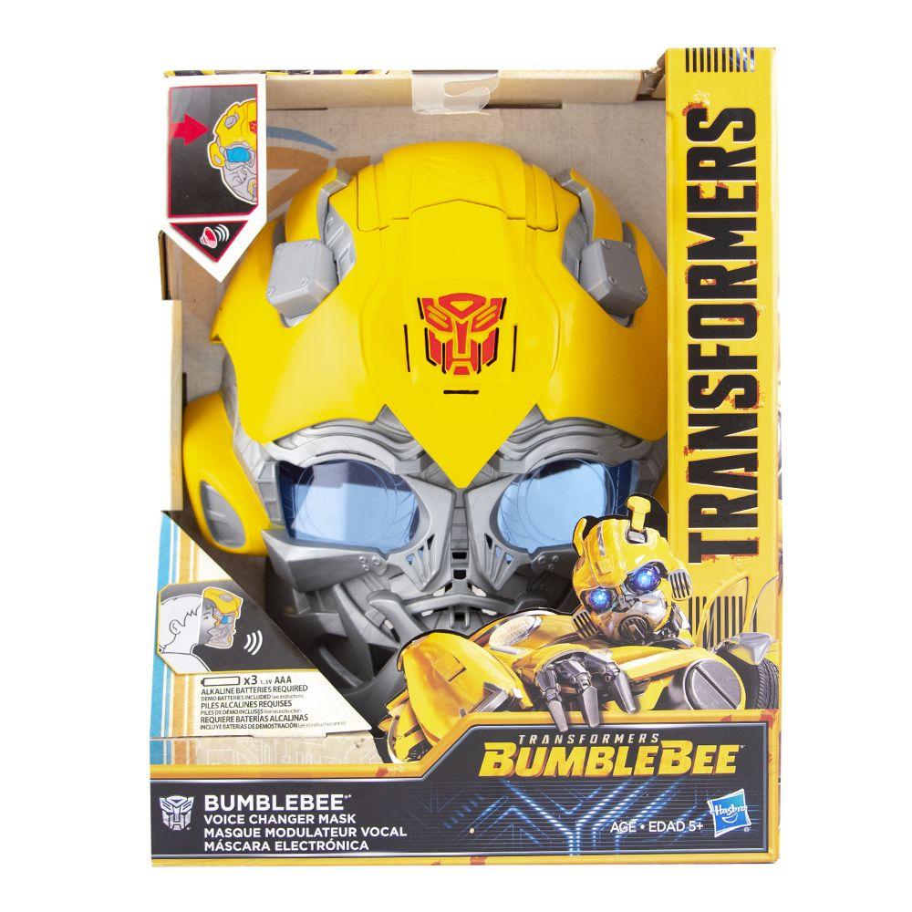 La Comer: Transformer máscara mv6 Bumblebee