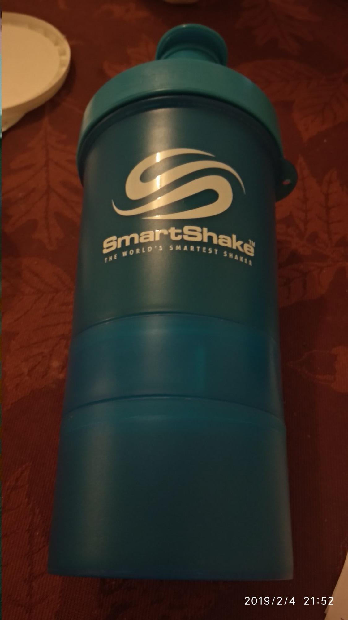 GNC: Smartshake, bote agitador.