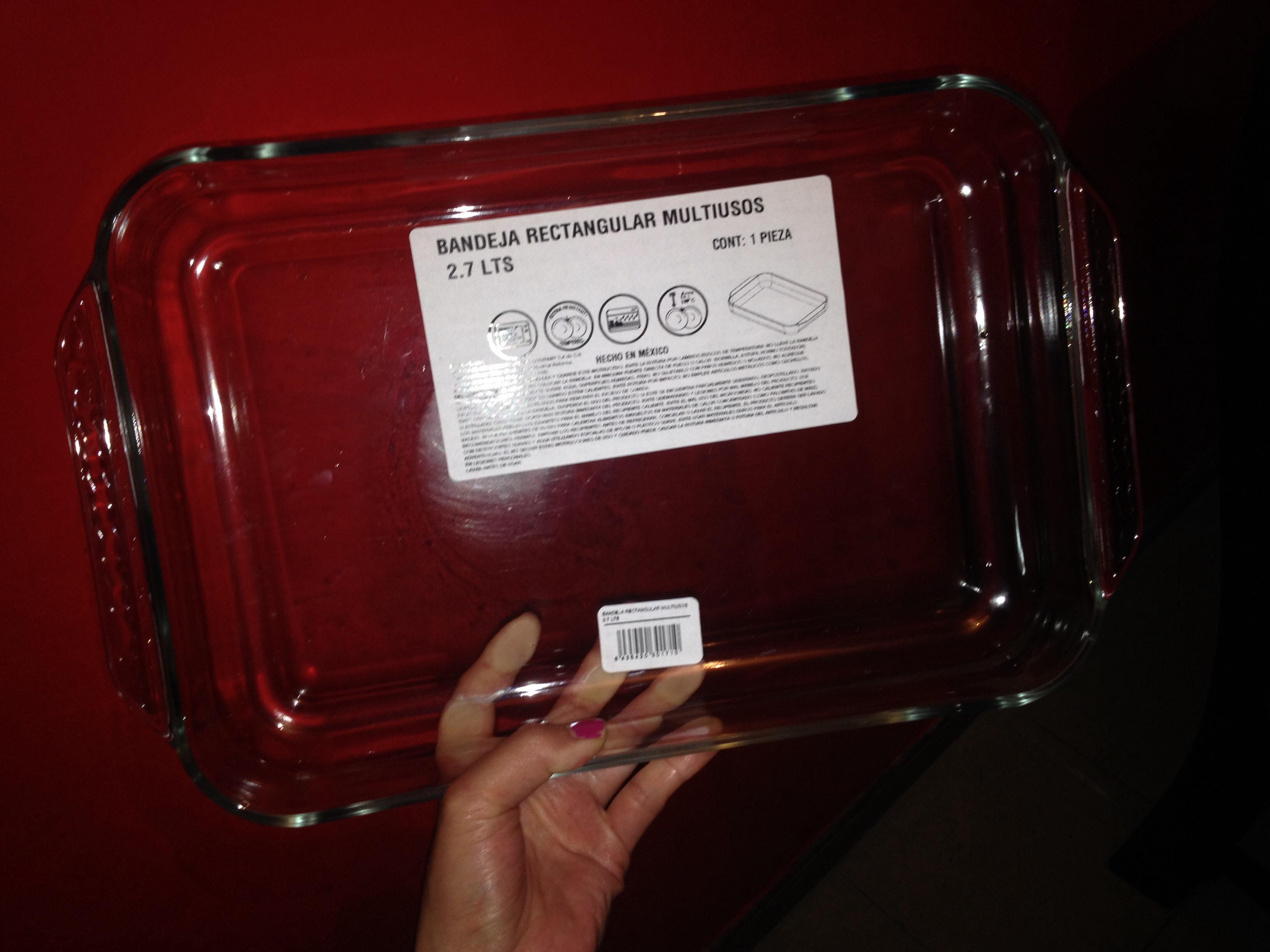 BODEGA AURRERÁ refractario rectangular grande