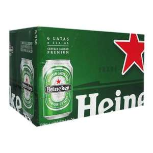 Superama: Six Pack Heineken Lata a $75