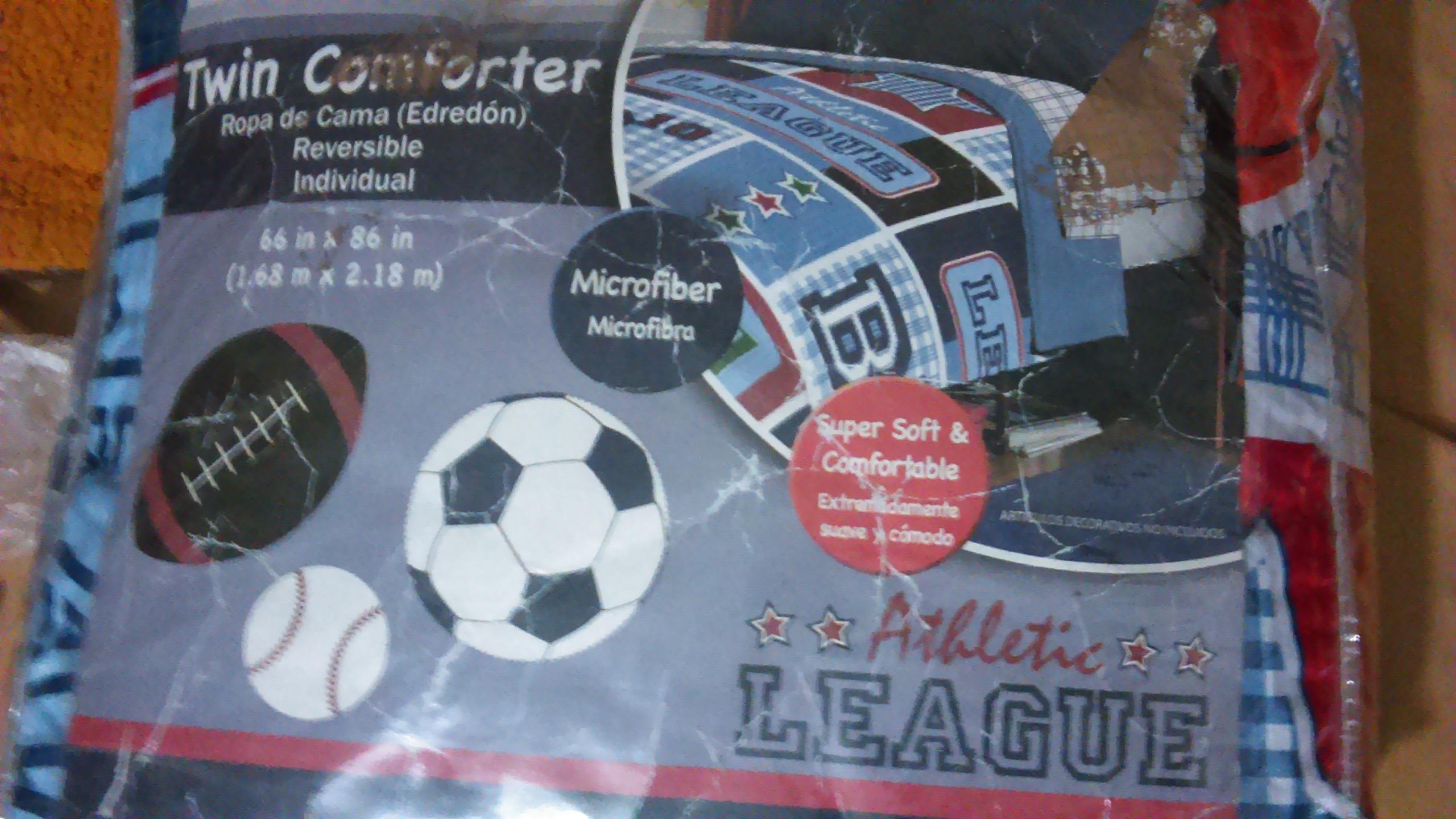 Walmart Ciudad Jardin: Edredon Individual Sport $50