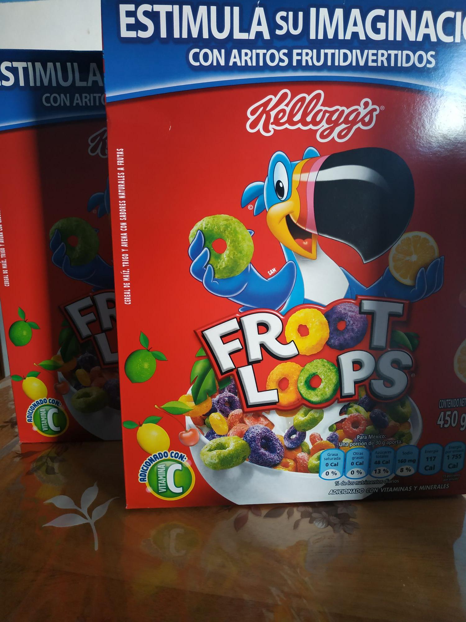 Bodega Aurrerá: Cereal Froot Loops 450g