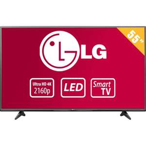 Walmart: Pantalla LG 55 pulgadas LED SMART TV 4K UHD a $14,499