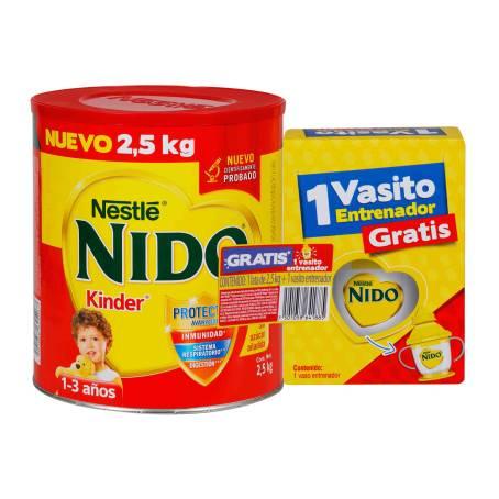 Sam's Club: Nido kinder 2.5 Kg más vaso entrenador