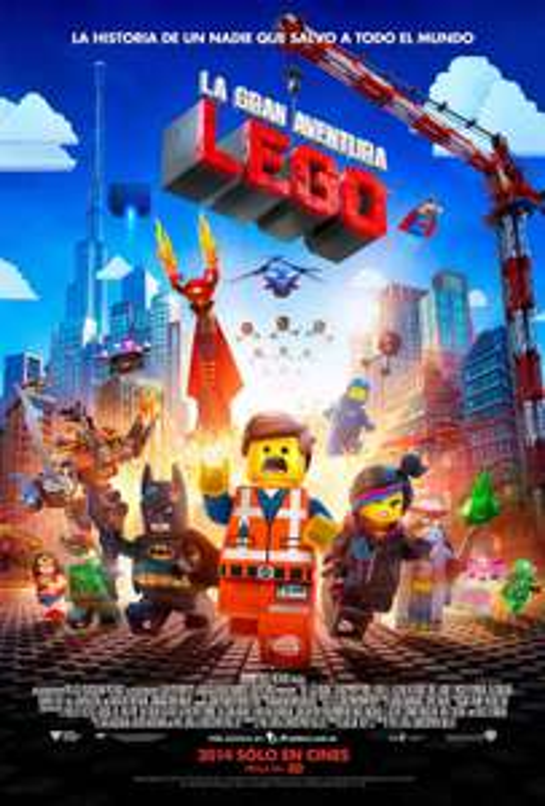 iTunes: La Gran Aventura Lego + iTunes Extras [4K]