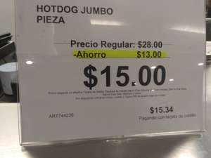 Sam's Club: Oferta de Hot Dog