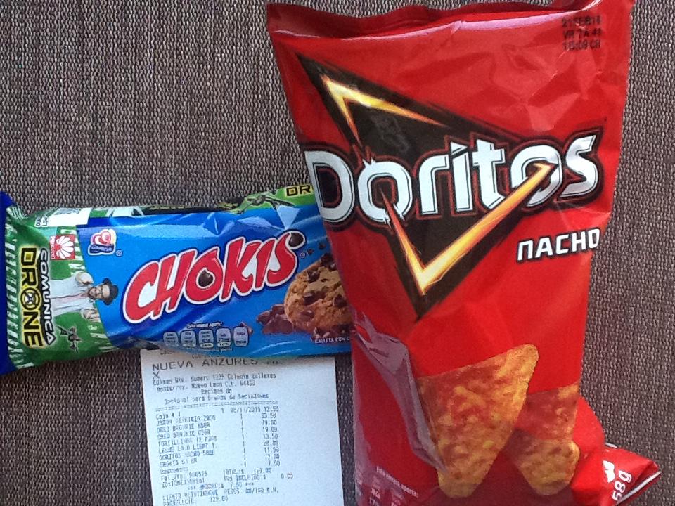Oxxo: Doritos nachos o Chokis 2 X $16
