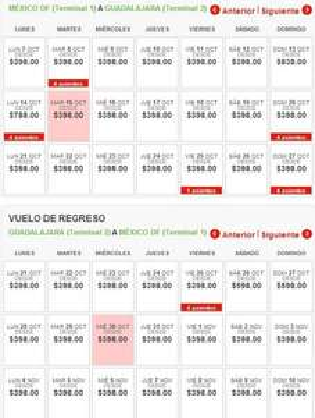 Vivaaerobus: vuelos sencillos desde $398 para octubre y noviembre