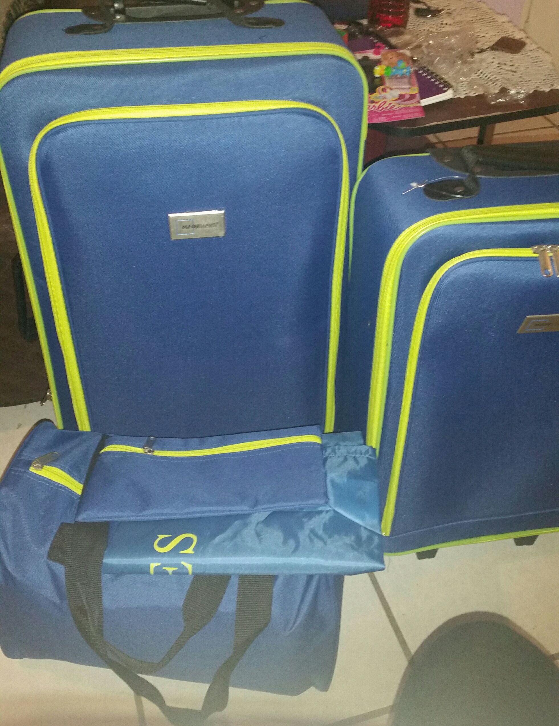 Walmart: SLP. SET de 5 maletas