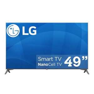 Pantalla LG 49 Pulgadas LED Super UHD Smart TV