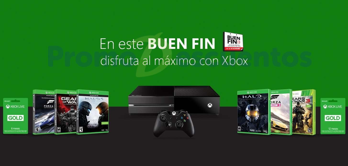 Ofertas del Buen Fin 2015 para Xbox One y Xbox 360 Xbox por parte de Microsoft