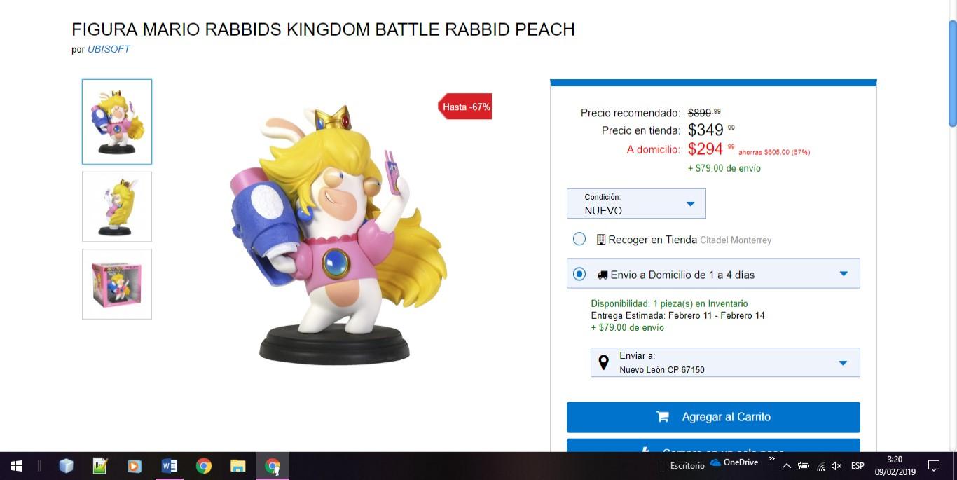 Game Planet: figura mario rabbids kingdom battle