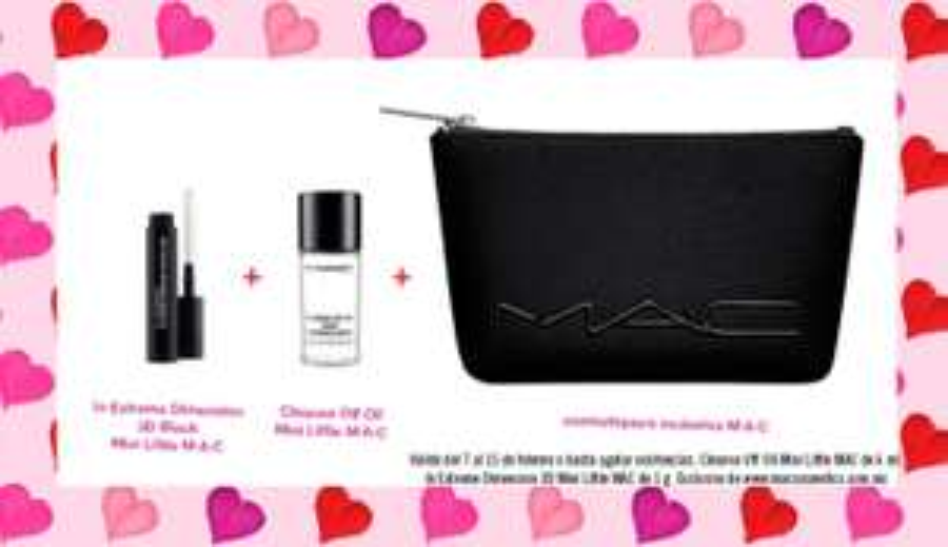 MAC Cosmetics: Regalos en compra mínima $1200 + Envío gratis