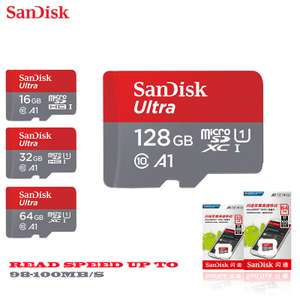 AliExpress: Micro SD 128 GB - SanDisk