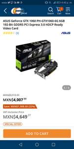 Newegg: ASUS GeForce GTX 1060 PH-GTX1060-6G 6GB 192-Bit GDDR5 PCI Express 3.0 HDCP Ready Video Card