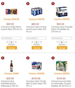 Superama: 24 Coronitas o 16 latas 355ml por $125