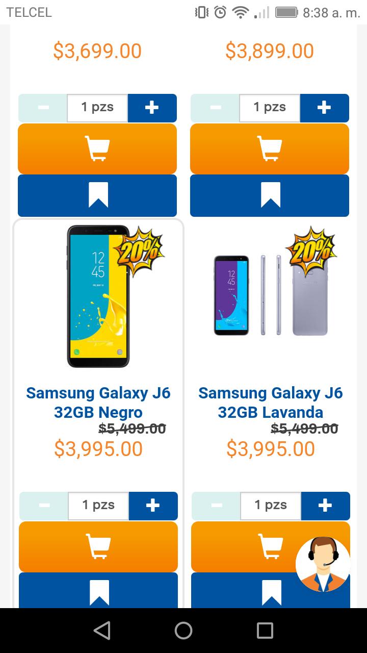 Chedraui: 20% de descuento en celulares telcel