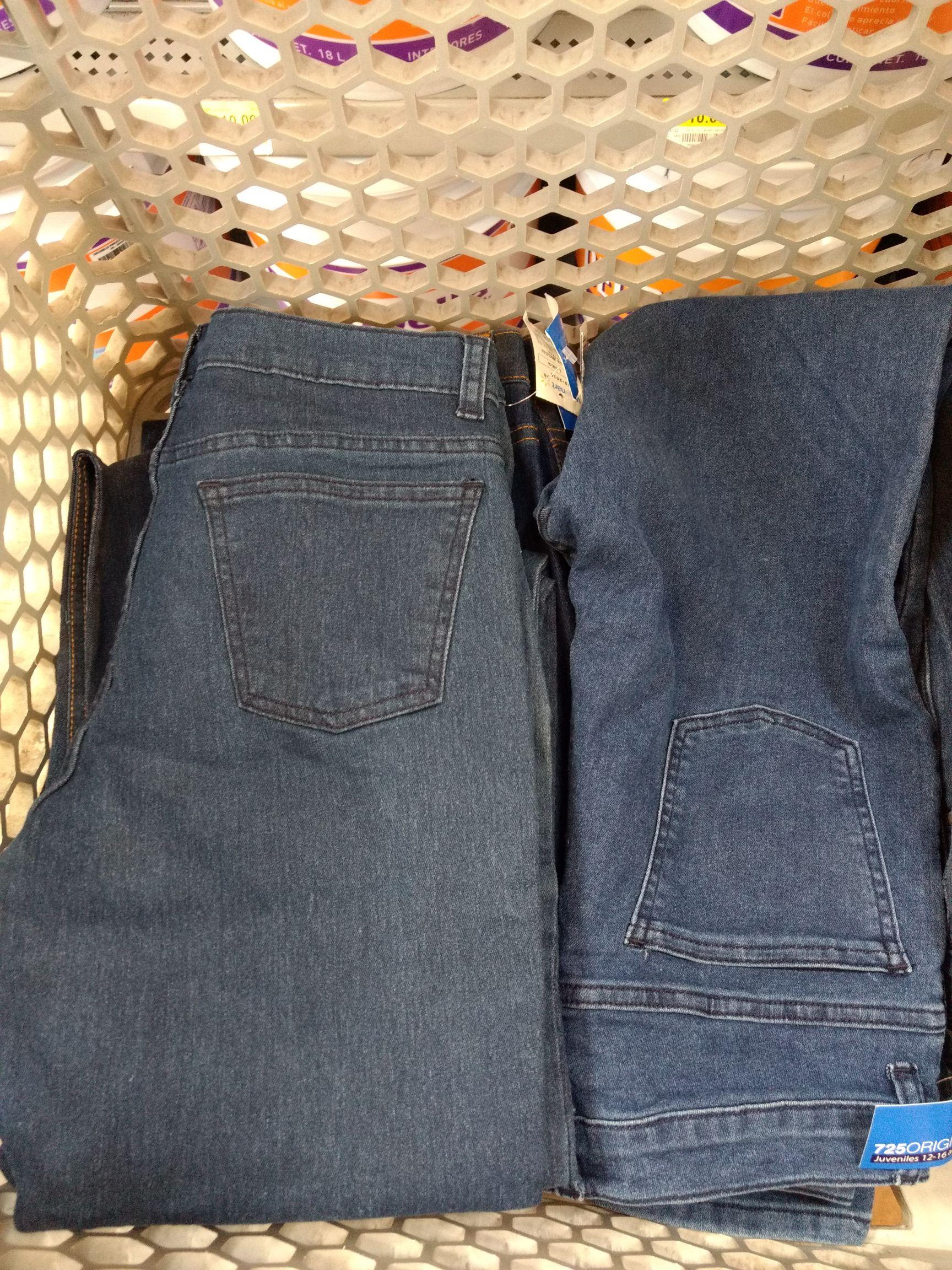 Walmart: Pantalón de mezclilla juvenil (12-16 EG) 30.01
