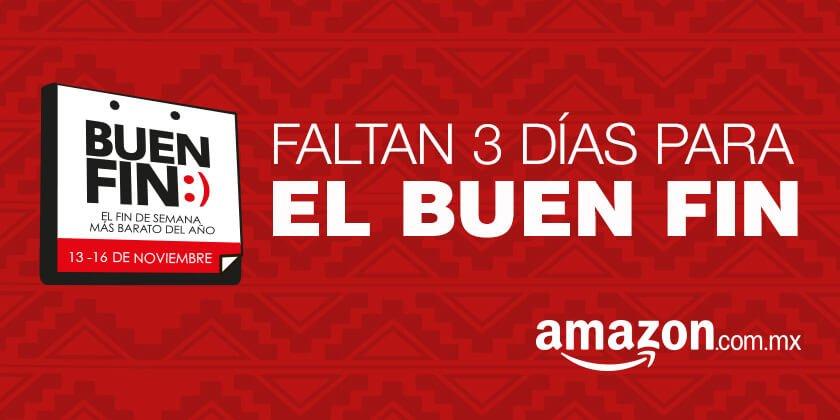Ofertas del Buen Fin 2015 en Amazon: 18 meses sin intereses y 3 de bonificación con Banamex y más