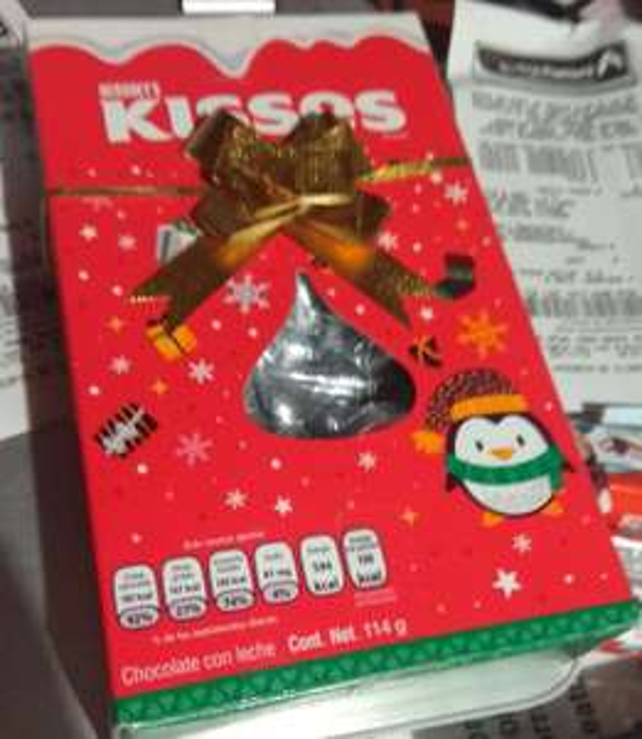 Bodega Aurrera Naranjos Oaxaca: Chocolate Kisses Hersey's y Kinder