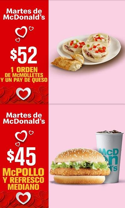McDonald's: Martes de McDonald's 12 Febrero